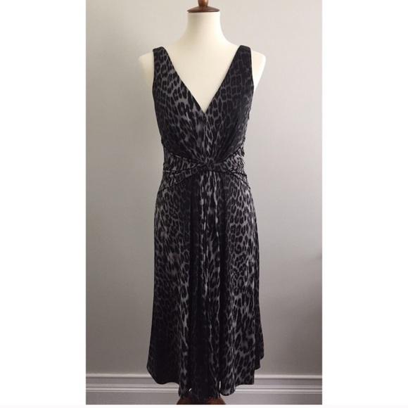 fe35094d Elie Tahari JULIAN Leopard Print Silk Jersey Dress.  M_5c4284ae9fe486b3e61f66a3